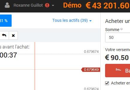 1000 euros fructifiés en 43 000 en moins d'une journée