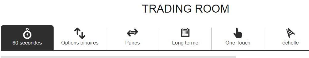 Trading Room ou plutôt « salle de jeux »?