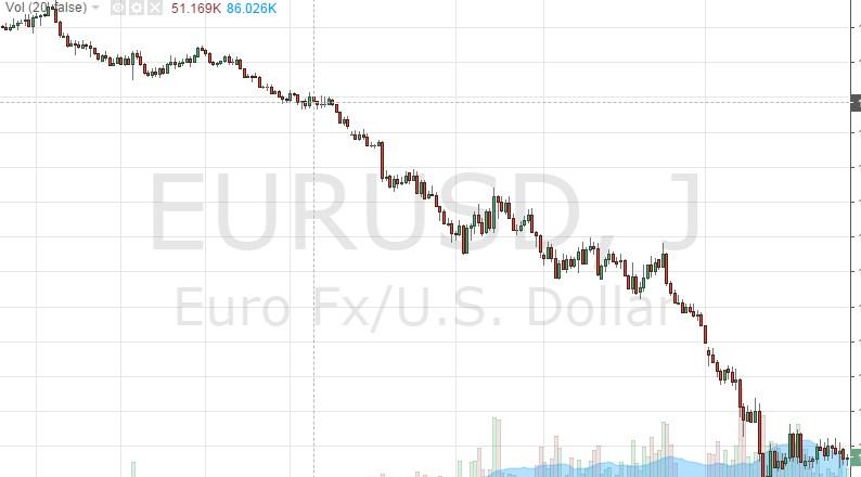 Chute vertigineuse de l'euro face au dollar durant ces deux dernières années